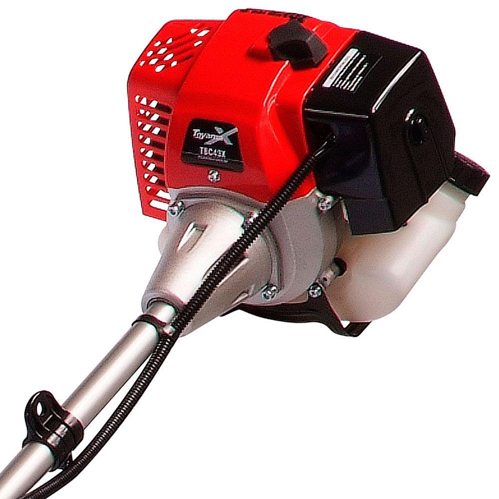 Roçadeira Lateral a Gasolina 42,7 CC Premium TBC 43 X - TOYAMA