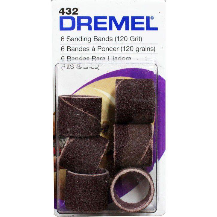 Rolo de Lixa 1/2'' 432 c/ 6 Unidades - DREMEL