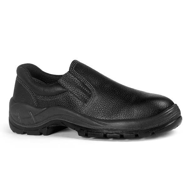 Sapato Segurança Em Couro S/ Bico Monodensidade Nº 34 - BRACOL