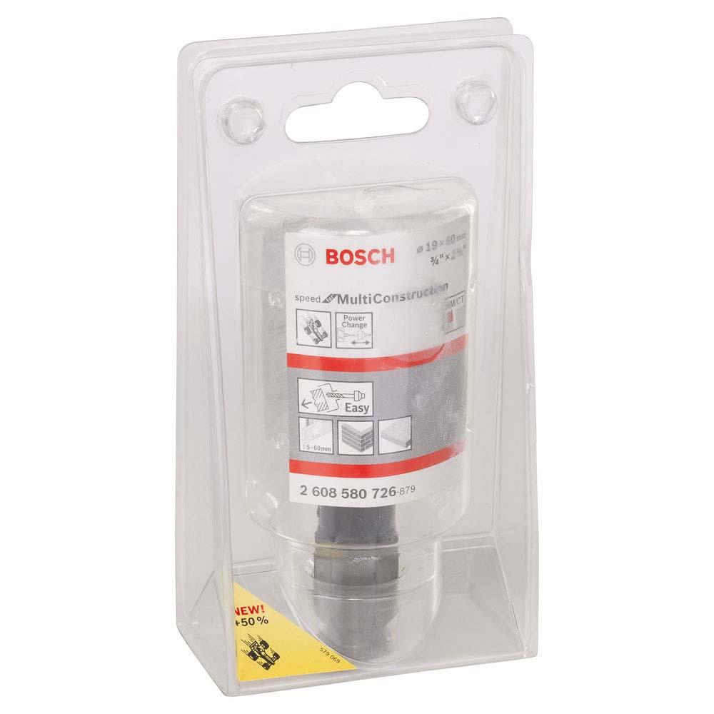 Serra copo Bosch Speed for Multi Construction 19 mm, 3/4