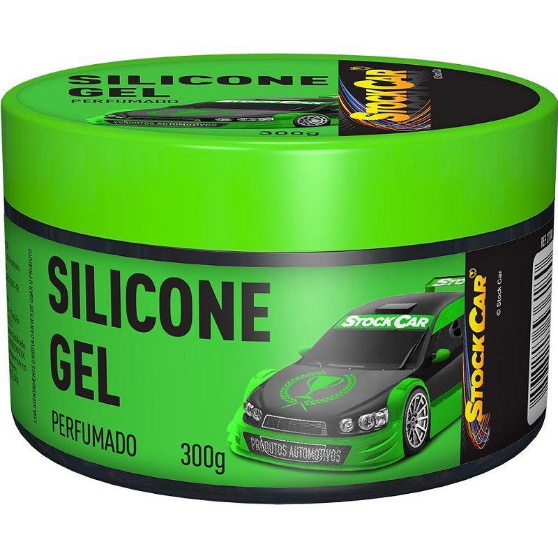 Silicone Em Gel Perfumado 300gr - STOCKCAR