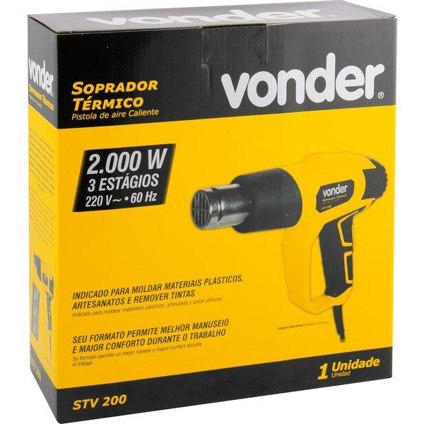 Soprador Térmico 2000W 220V STV200N - Vonder