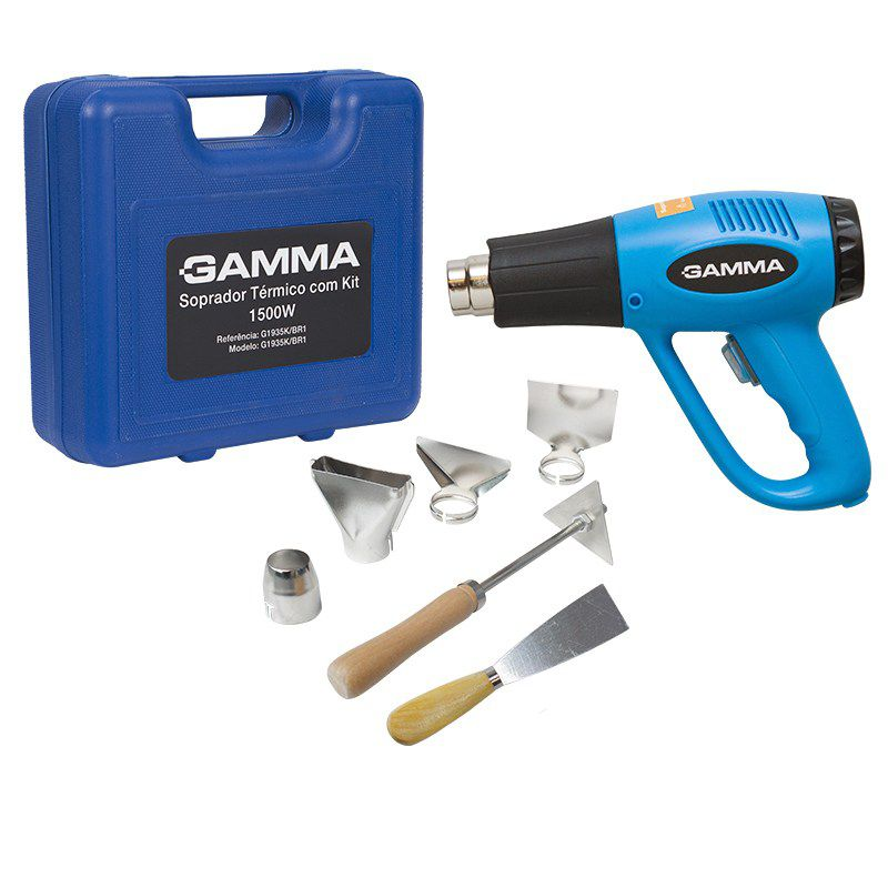 Soprador Térmico com Kit, 1500W - 127V Gamma