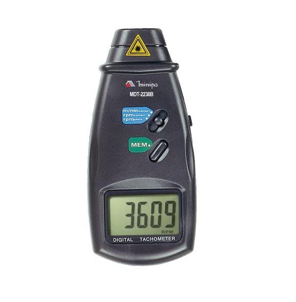 Tacômetro Foto/Contato Digital MDT-2238B - MINIPA