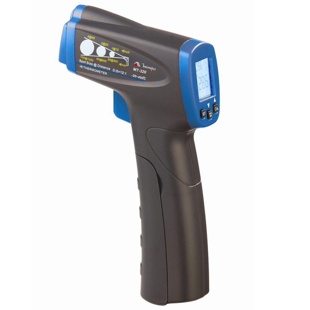 Termômetro Digital Infravermelho Mira a Laser MT 320 - MINIPA