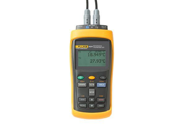 Termômetro Digital Portátil c/ 2 Canais 1524 - FLUKE