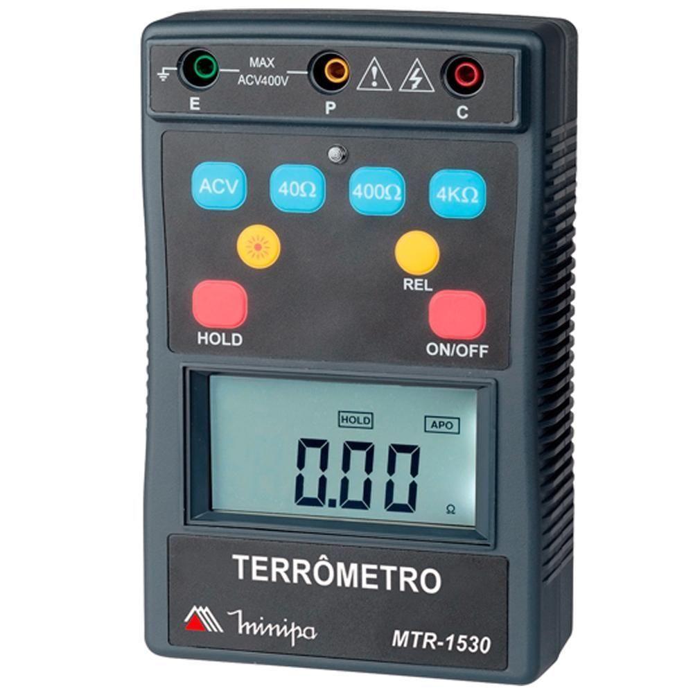 Terrômetro Digital Portátil MTR1530 - MINIPA