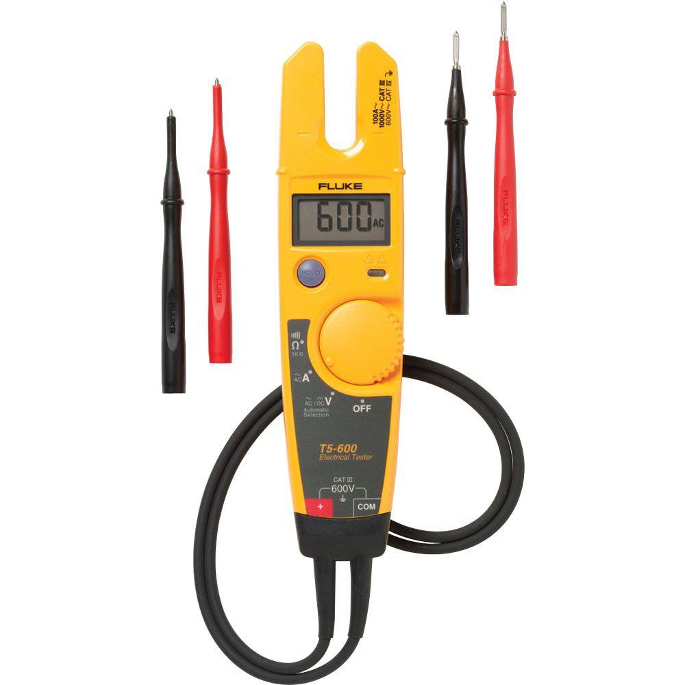 Testador de Tensão e Continuidade de Corrente T5 - 600 - FLUKE
