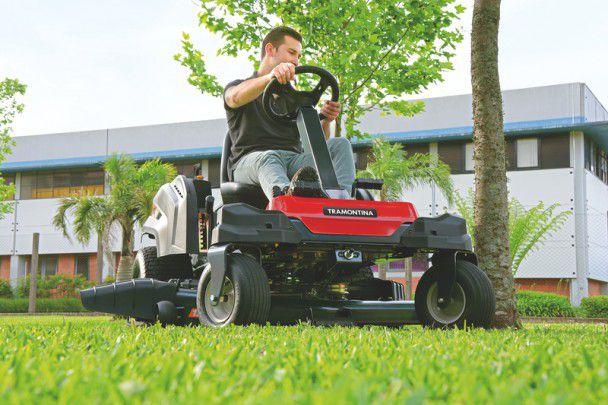 Trator p/ Cortar Grama 25 HP Giro Zero 79945 / 253 - TRAMONTINA