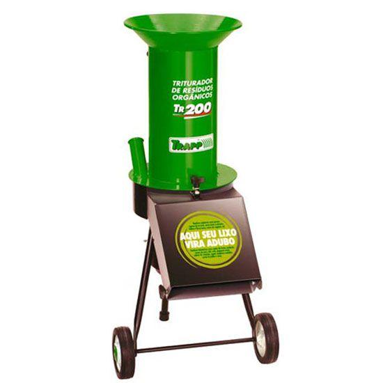 Triturador de Resíduos 1,5 CV TR200 Monofásico Bivolt - TRAPP