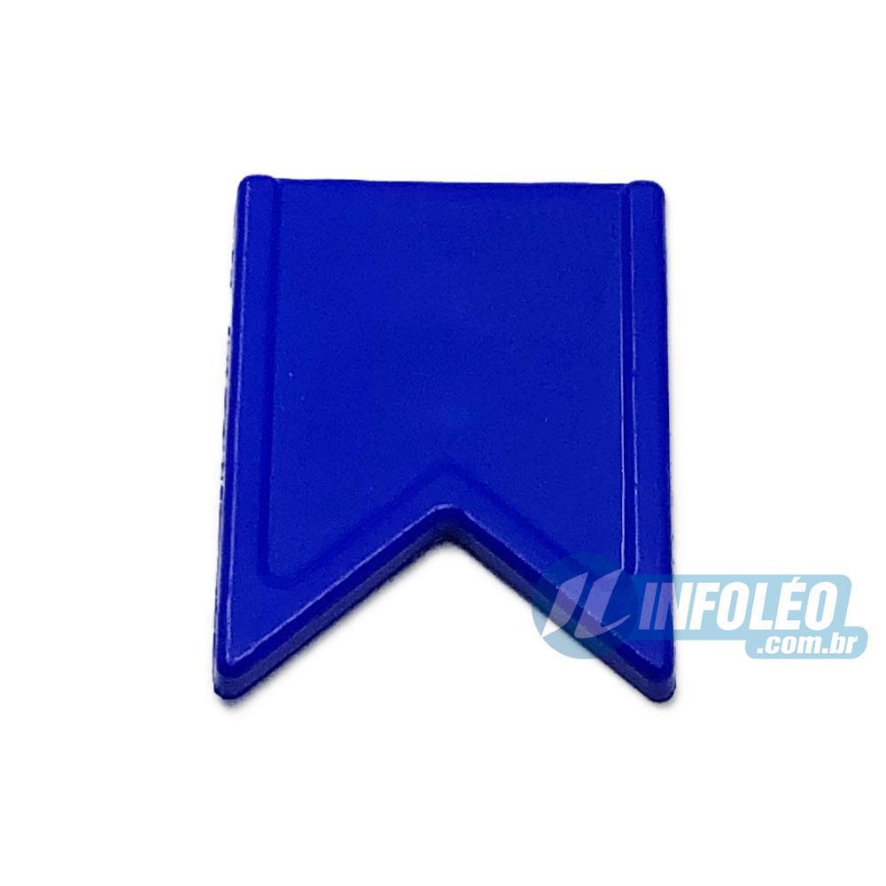 Aplique Botão Bandeira Azul Escuro Festa Junina - 5 unidades
