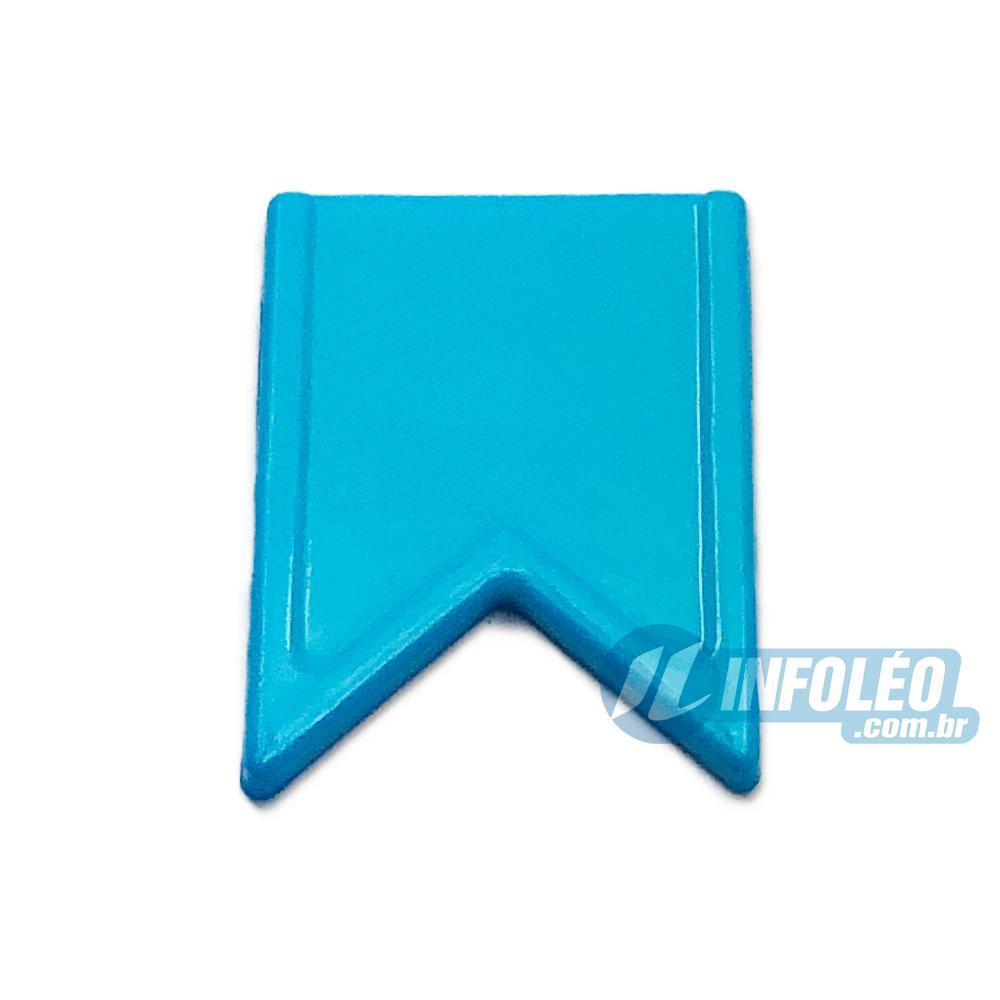 Aplique Botão Bandeira Azul Mar Festa Junina - 5 unidades