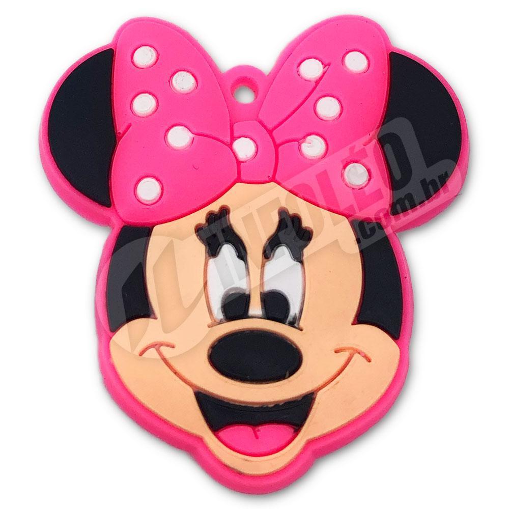Aplique Emborrachado Cabeça Minnie 4,5x5cm