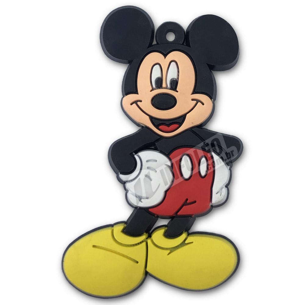 Aplique Emborrachado Mickey 4x6cm