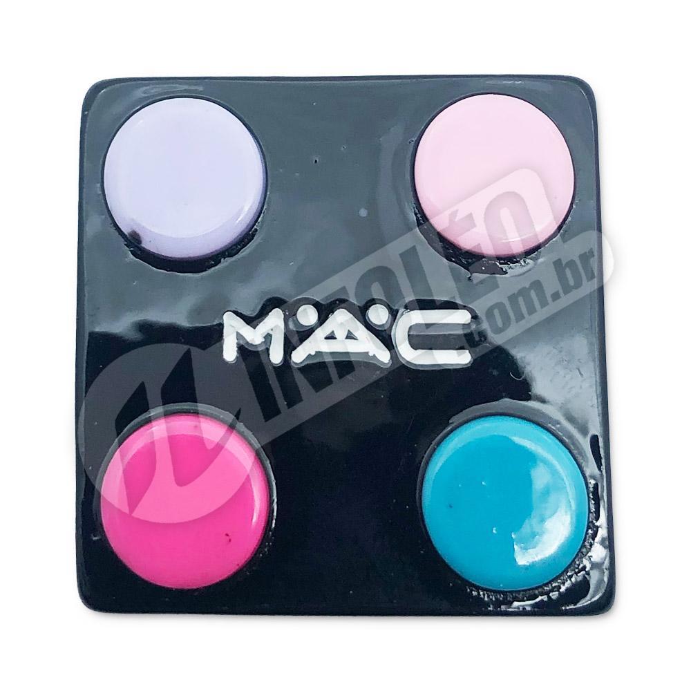 Aplique Maquiagem MAC 2,5x2,5cm - 2 unidades