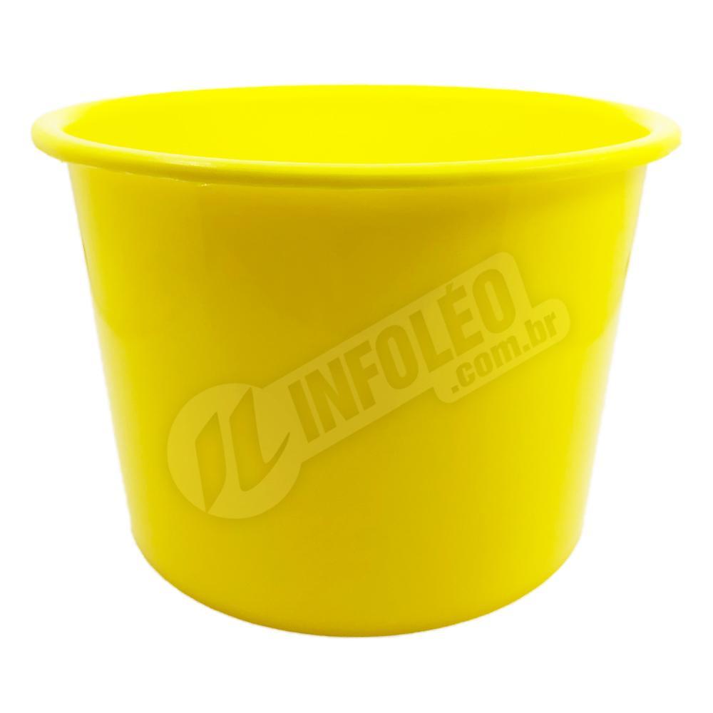 Balde de Pipoca 1,5 Litros Amarelo