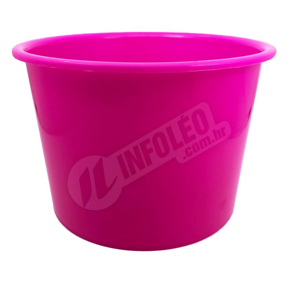 Balde de Pipoca 1,5 Litros Rosa Pink