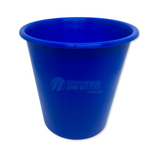 Balde de Pipoca 1 Litro Azul Royal
