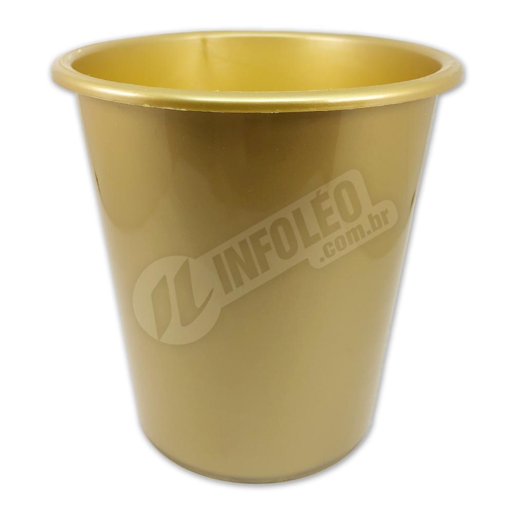 Balde de Pipoca 1 Litro Dourado