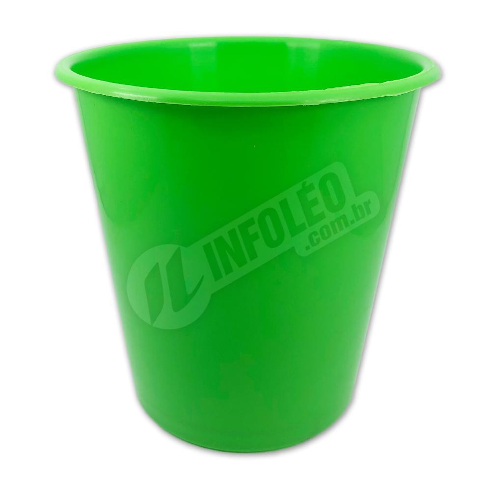 Balde de Pipoca 1 Litro Verde Limão