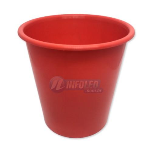 Balde de Pipoca 1 Litro Vermelho