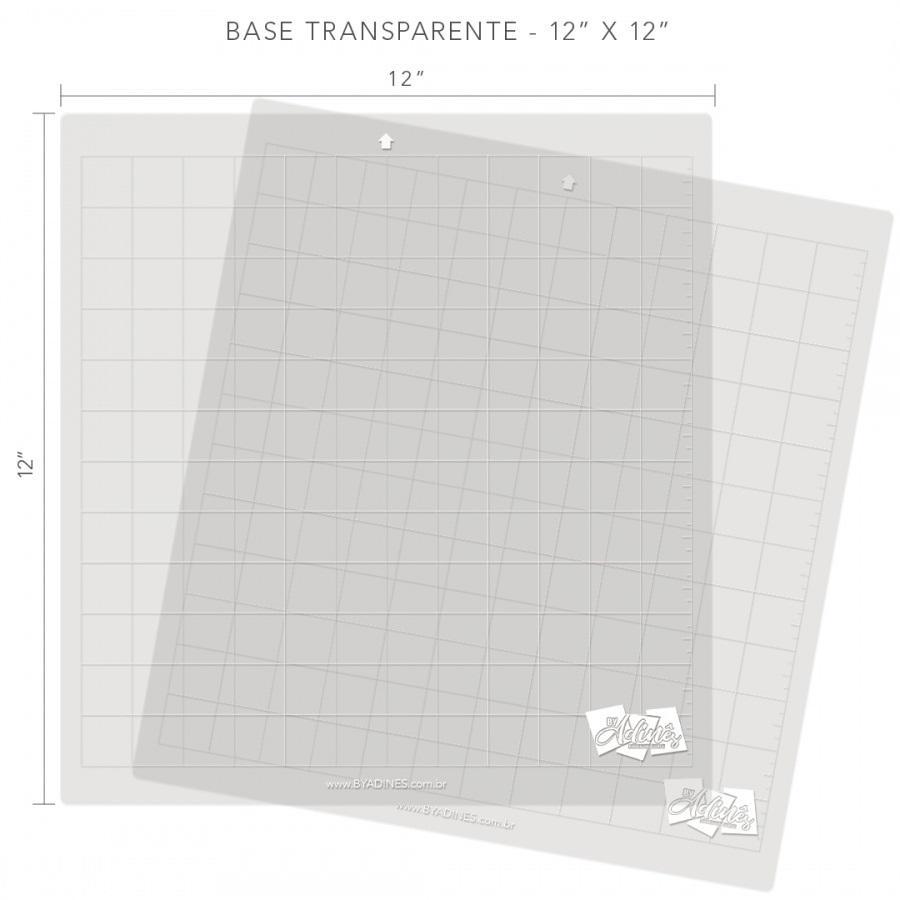 Base de Corte 30x30cm Alternativa Transparente P/ Cameo Adines