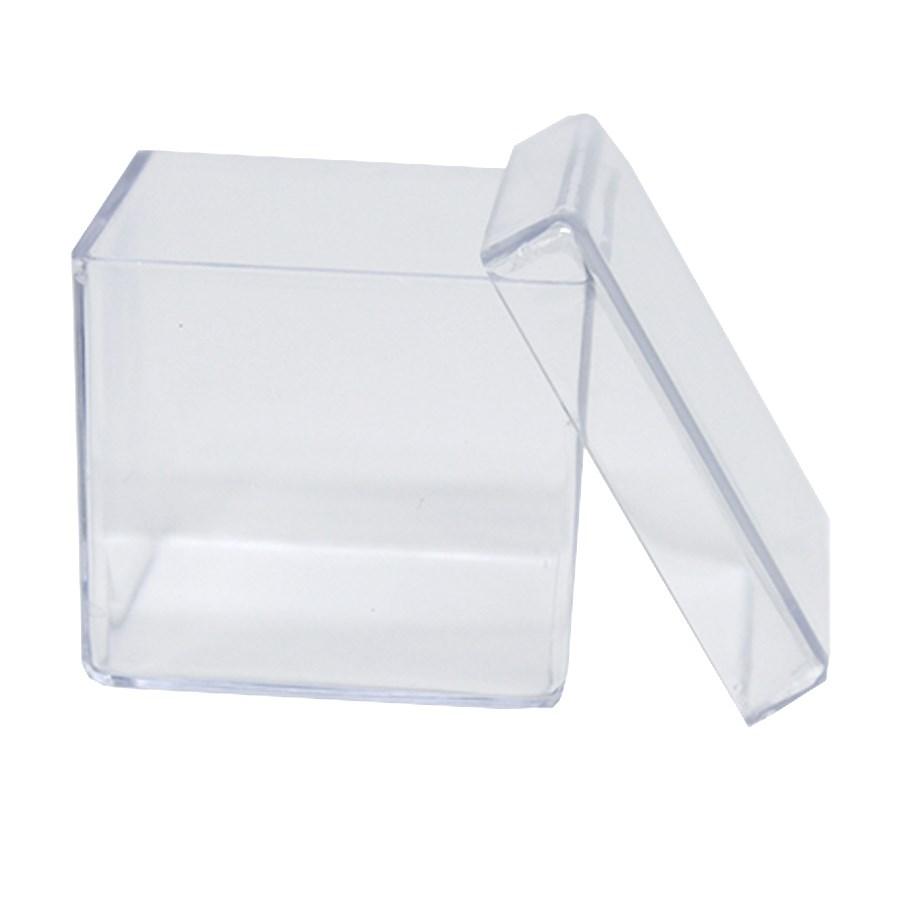 Caixa Acrilica 7x7x4 cm C/ 10 unidades