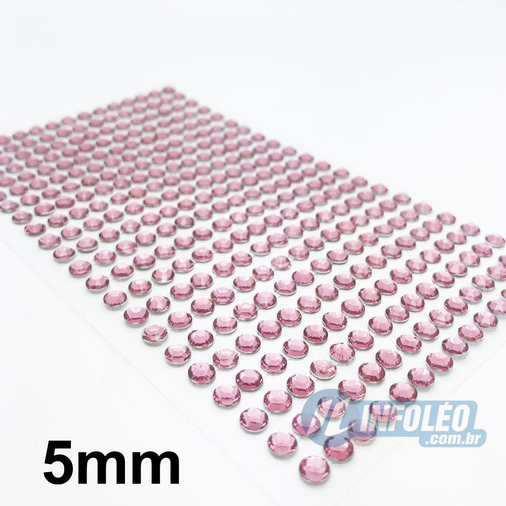 Cartela Meia Perola 6mm Vermelho - 240 unidades