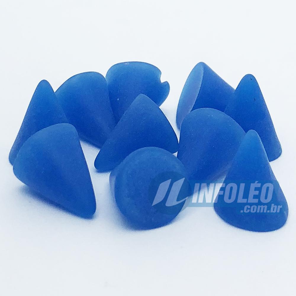 Chaton ABS Cone 10x15mm Azul