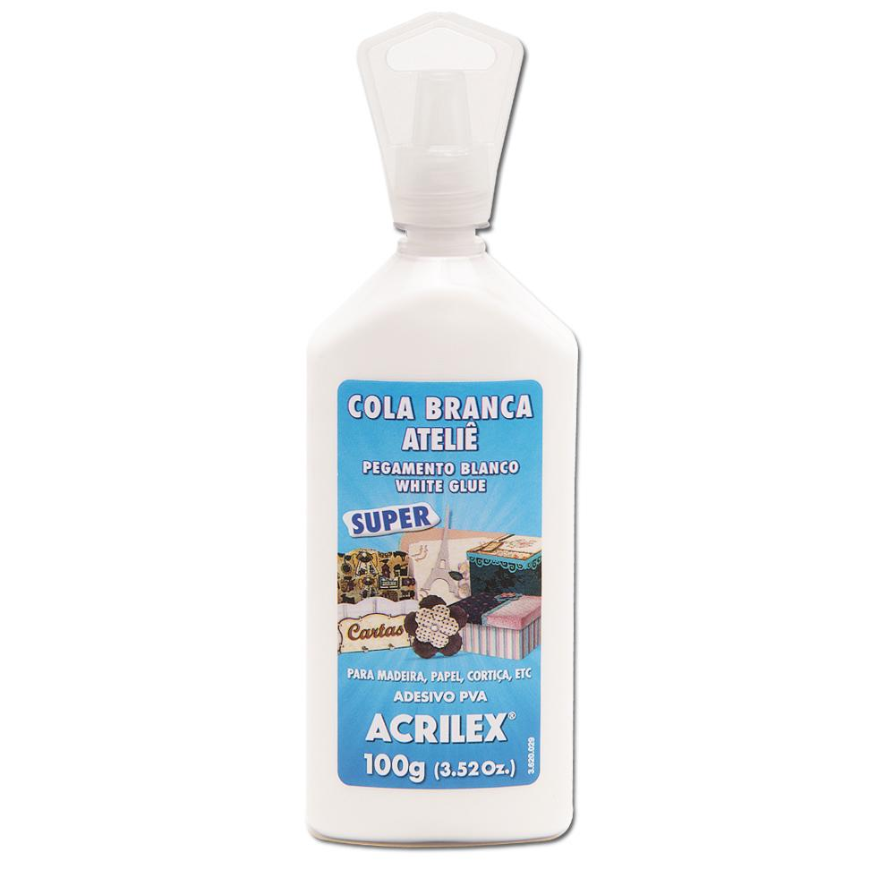 Cola Branca Ateliê Super 100 gramas Acrilex - 19410