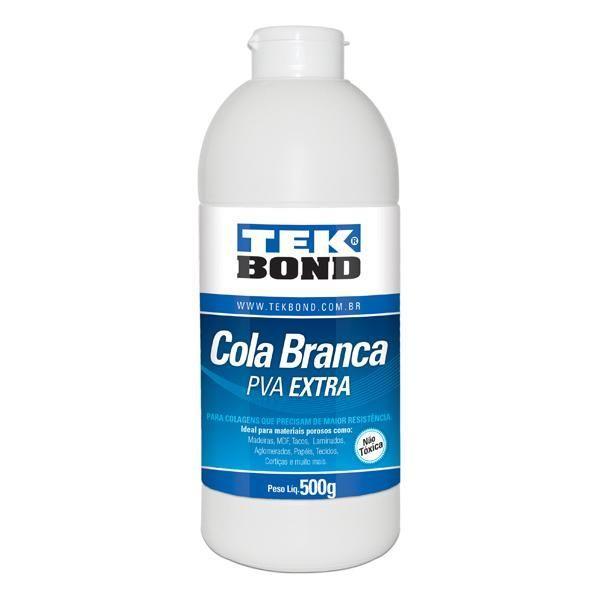 Cola Branca PVA Extra 500g Tekbond - 2300