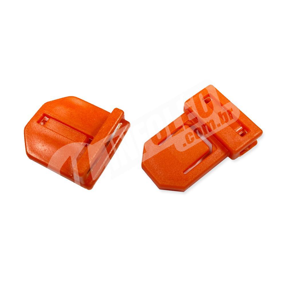 Conjunto de Fecho Tic-Tac de Plástico c/ 10 kits