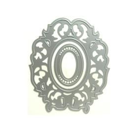 Faca p/ Corte e Relevo Moldura Oval Emboss - 2 tamanhos