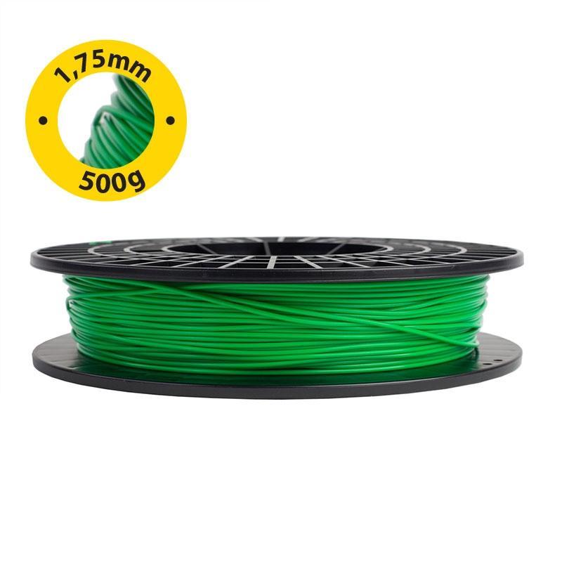 Filamento Verde para Impressora 3D 500g Silhouette Alta