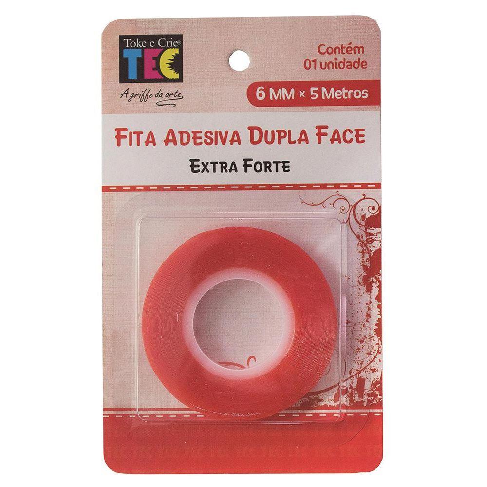 Fita Adesiva Toke e Crie Extra Forte DF 6mmx5MT - FAD20