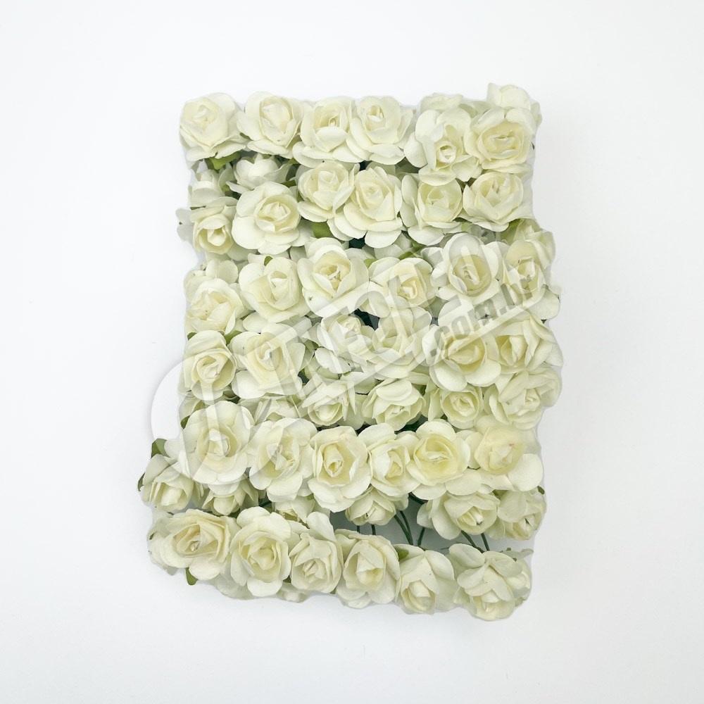 Flor de Papel Champagne - 72 unidades