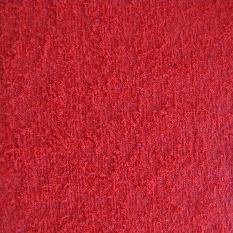 Folha EVA Atoalhado Vermelho 2mm 40x50cm BRW - EV0901