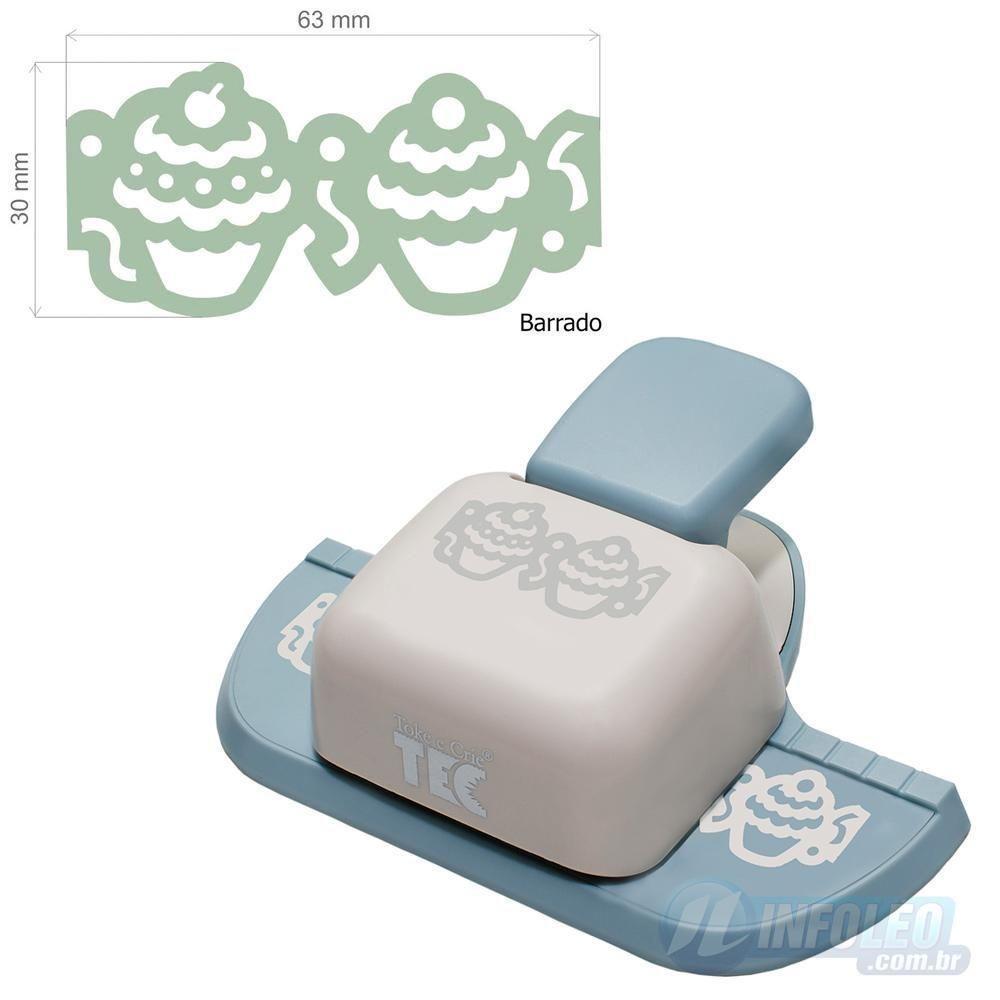 Furador Borda Max Cupcake Toke e Crie - 11004 - FBMA04