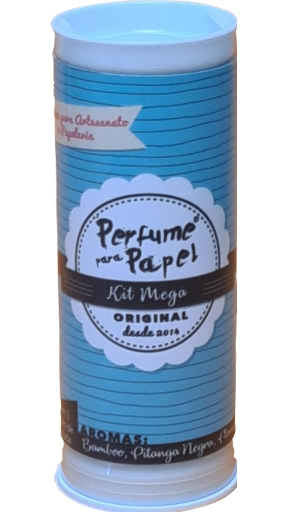 Kit Mega - Perfume para Papel com 3 aromas 15 ml cada (Pitanga Negra, Bamboo, Floresta Encantada)