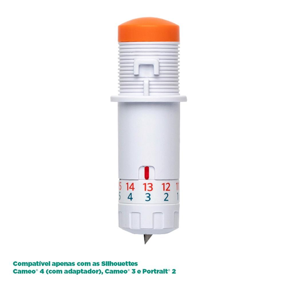 Lâmina Kraft 2mm para Silhouette Cameo 4 - SILH-BLADE-KRAFT
