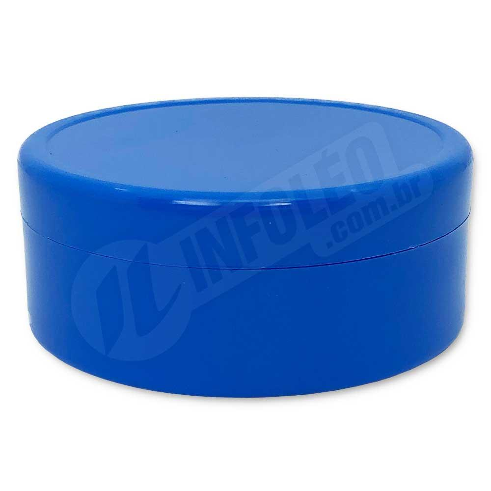 Latinha de Plástico 7x3cm Azul Royal