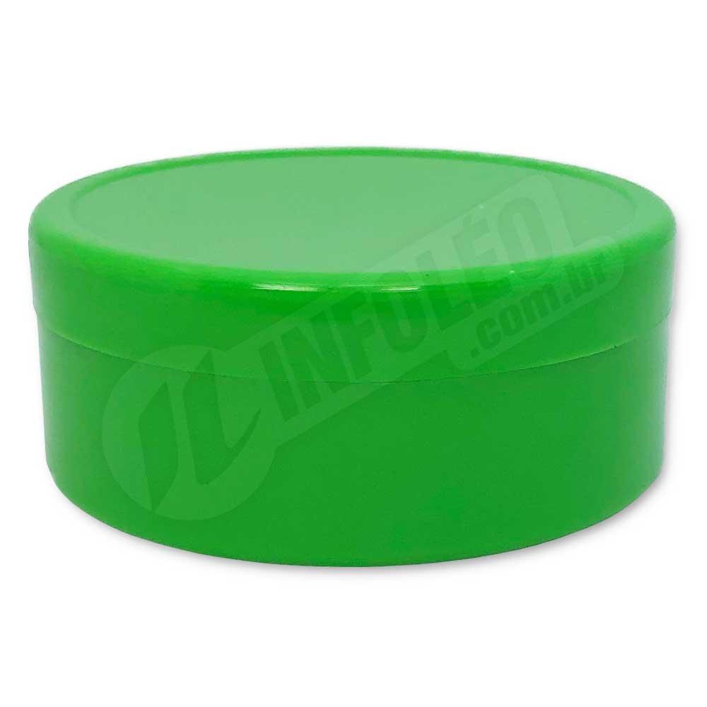 Latinha de Plástico 7x3cm Verde Limão