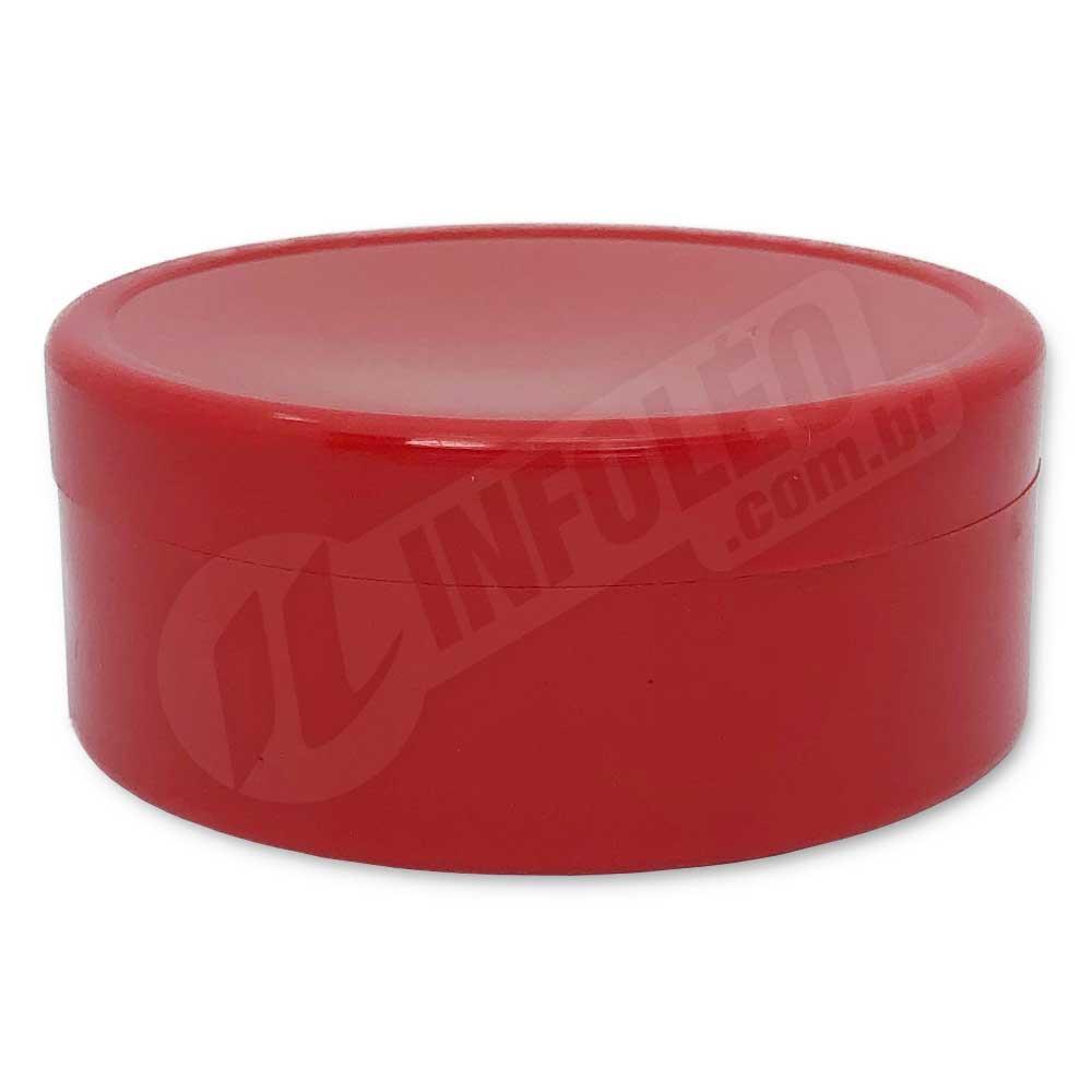 Latinha de Plástico 7x3cm Vermelho