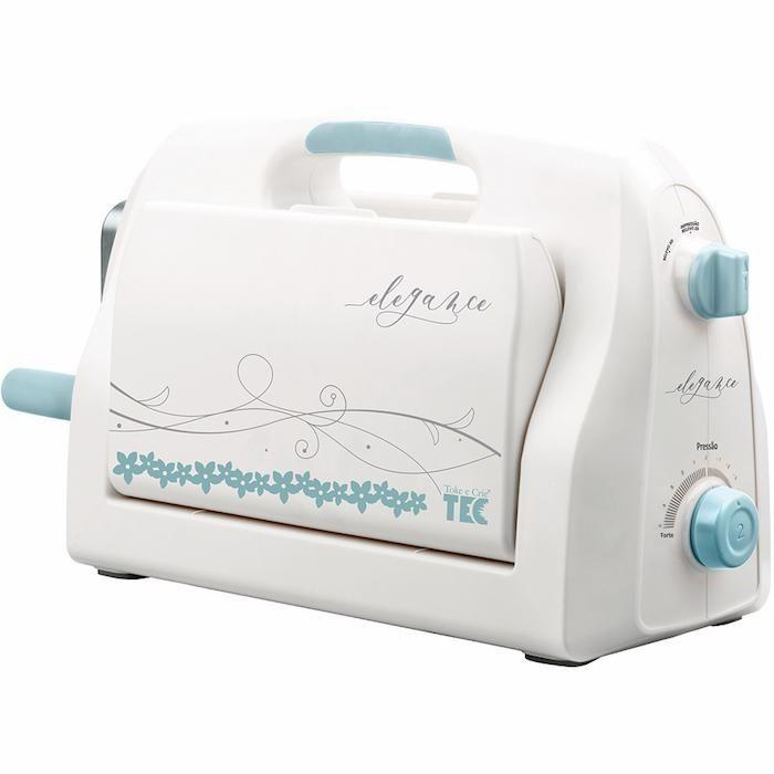 Máquina para Corte e Relevo Textura Elegance Toke e Crie - 20763 - MCR002