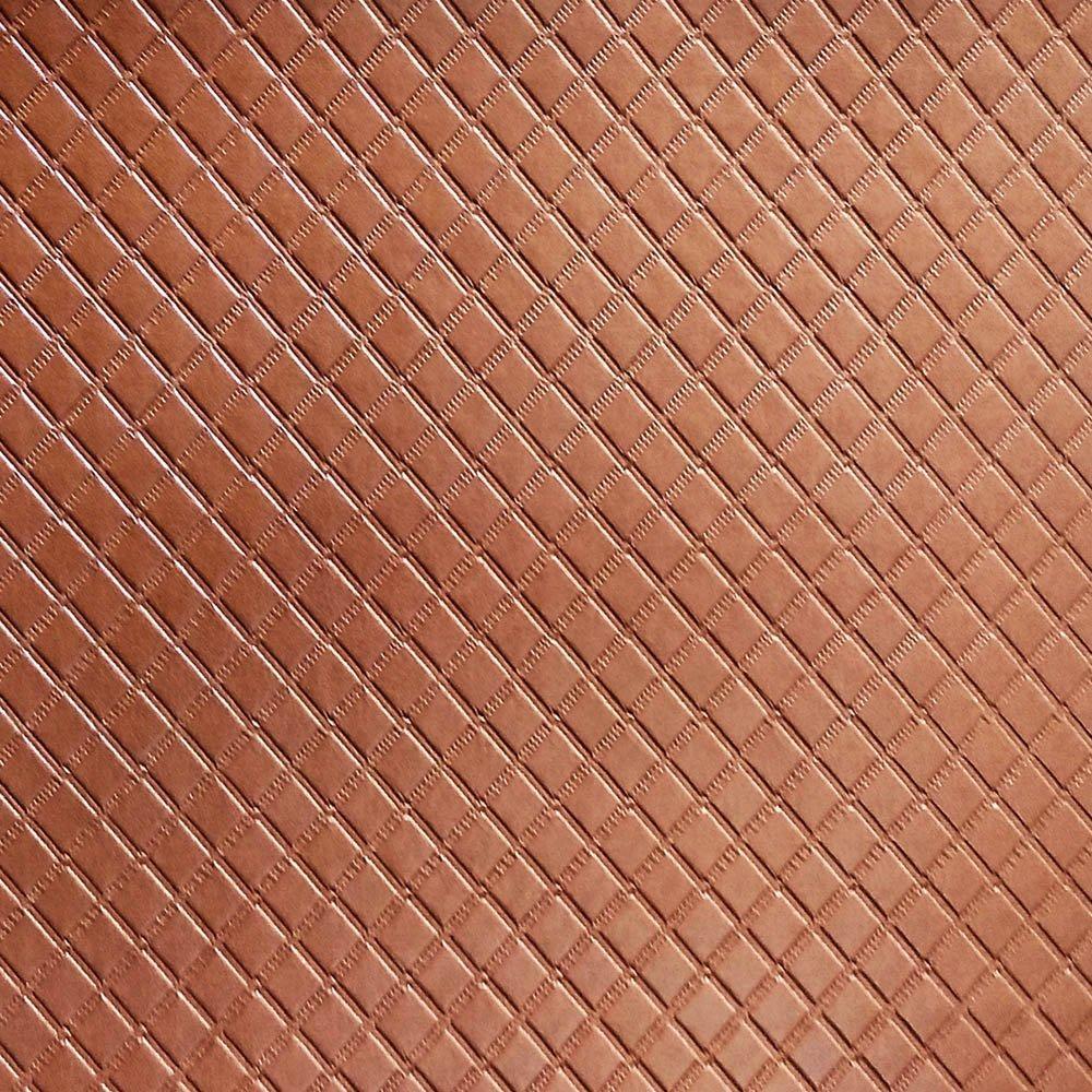 Metalassê PU Marrom C/ Textura Festa 31x43cm - 0023 - Unidade