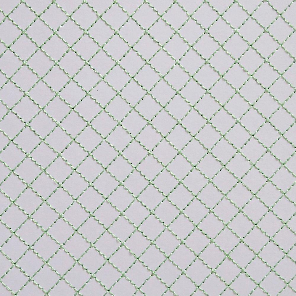 Papel Bordado Linha Verde em Papel Branco 30x30cm 240g - 0005