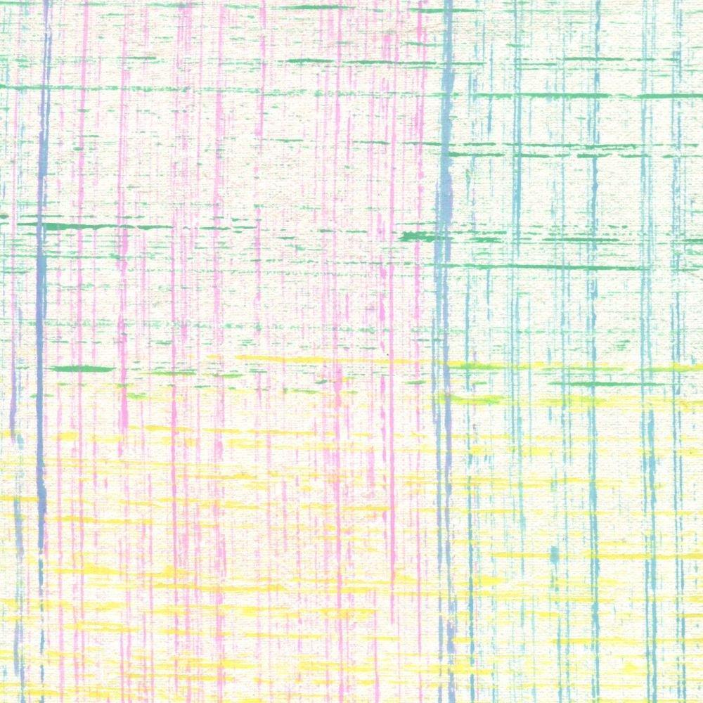 Papel C/ Textura Artesanal Indiano Riscos Coloridos 38x56cm - 0089 - Unidade
