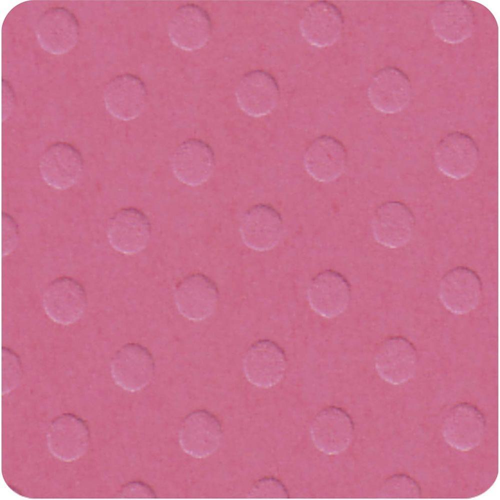 Papel Cardstock Bolinhas II Rosa Pink Toke e Crie - 19661 - PCAR485