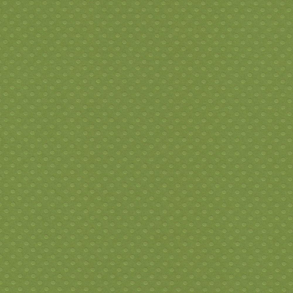 Papel Cardstock Bolinhas II Verde Relva Toke e Crie - 20074 - PCAR503