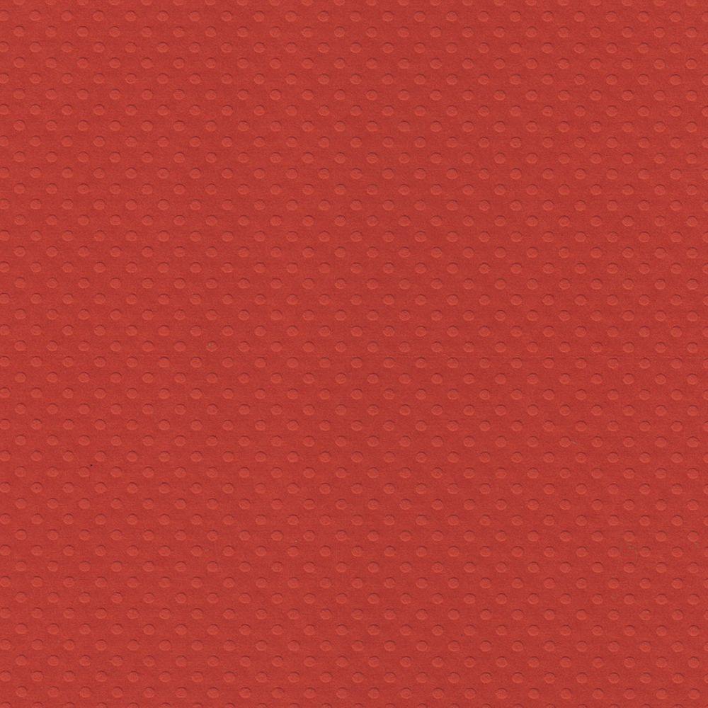 Papel Cardstock Bolinhas II Vermelho Intenso Toke e Crie - 20061 - PCAR490